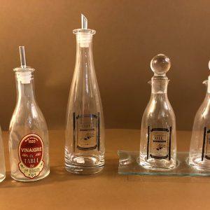 Montemaggi Olio e aceto con vassoio