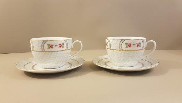 Pip Studio Coppia di tazze da thè in porcellana