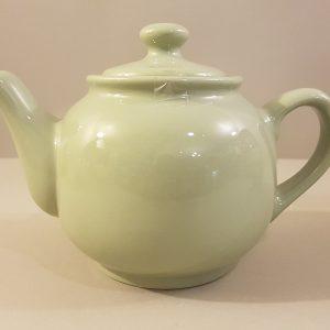 Kaleidos Teiera in ceramica verde salvia-Kaleidos