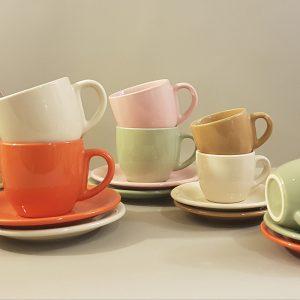 Kaleidos Tazzina da caffè in ceramica panna-Kaleidos
