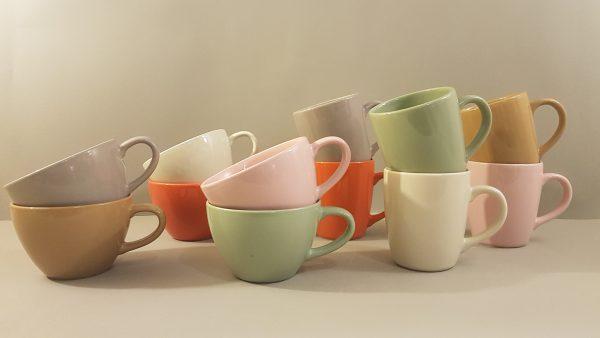 Kaleidos Mug in ceramica rosa-Kaleidos
