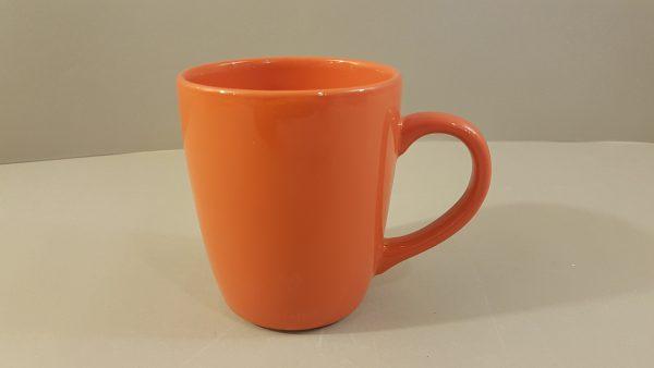 Kaleidos Mug in ceramica arancioKaleidos