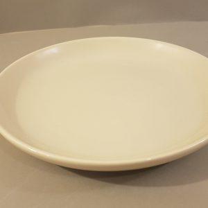 Kaleidos Piatto torta in ceramica panna