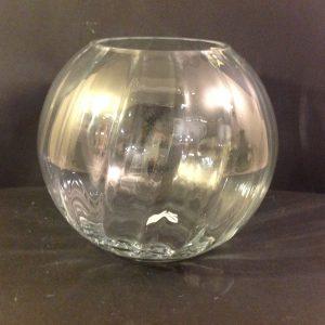 Côté Table Vaso in vetro ottico a palla Cote Table