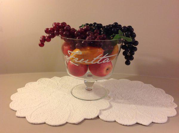 Simple Day alzata vetro frutta