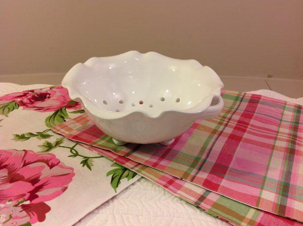Côté Table Scola fruttapasta in ceramica bianca