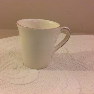 mug in ceramica panna