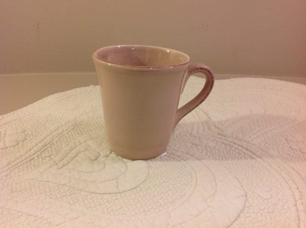 mug in ceramica rosa