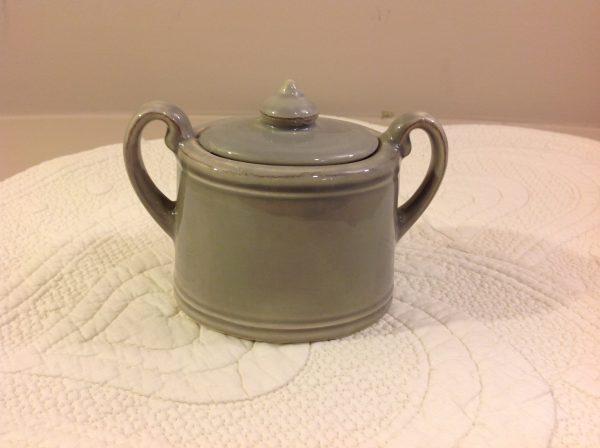 zuccheriera ceramica tortora