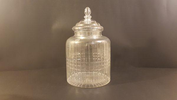 Côté Table Potiche in vetro intagliato