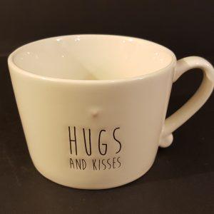 """Bastion Collection Tazza colazione """" Hugs and Kisses"""""""