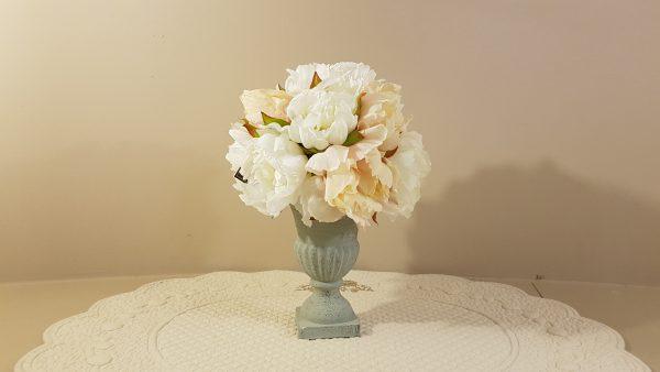 Bruco Vaso con fiori