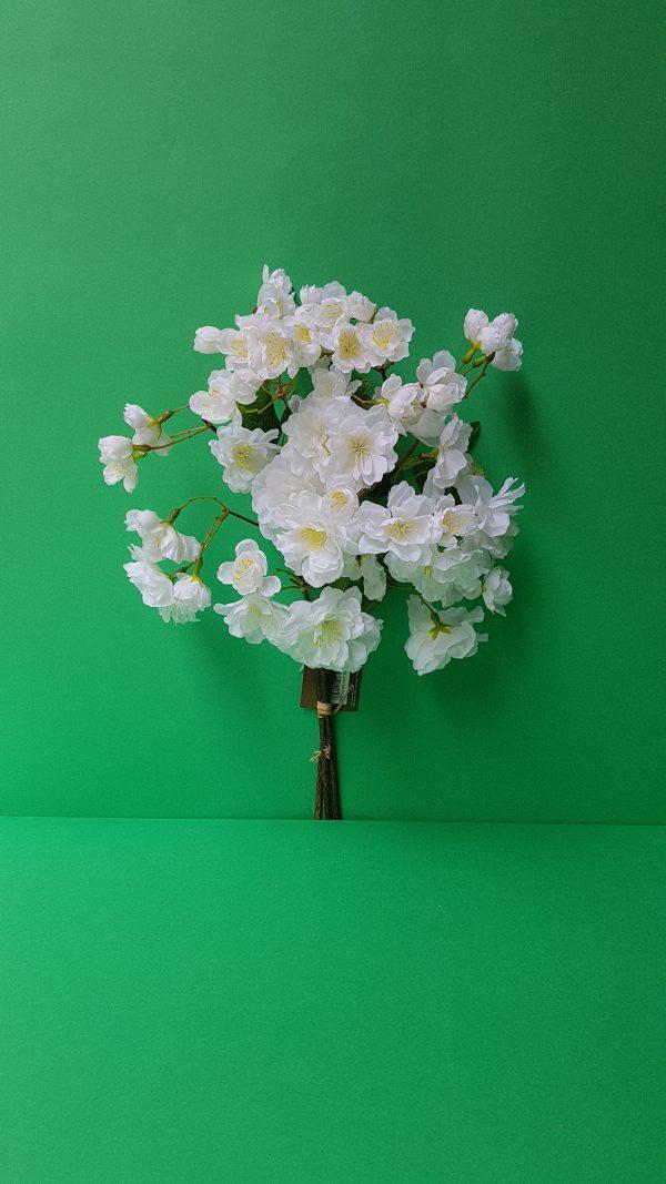 Bruco Mazzolino 3 rami ciliegio bianco