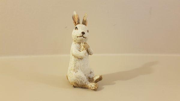 Coniglietto seduto in  resina