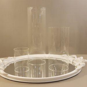 Bruco Parafiamma in vetro soffiato misura large