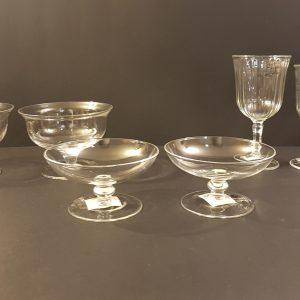 Blanc Mariclò Set 6 calici acqua vetro