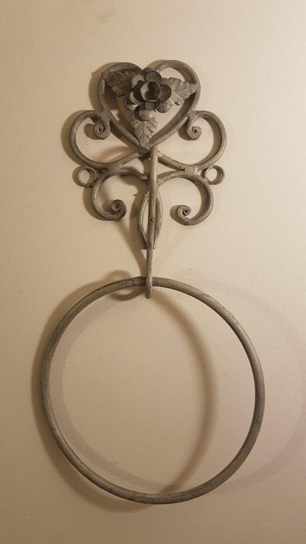anello portasciugamano ferro