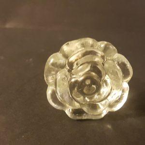 pomello a fiore in vetro