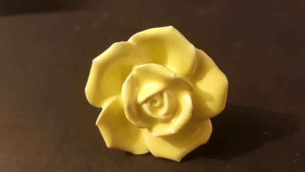 pomello fiore ceramica