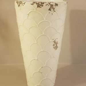 vaso ceramica panna anticata