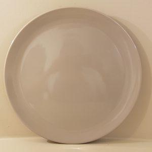 sottopiatto ceramica grigio 33 cm