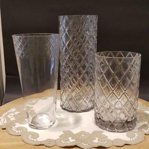 vasi vetro lavorato