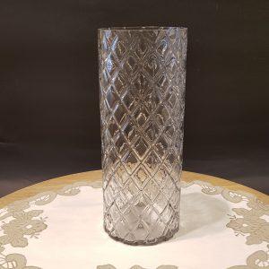vaso vetro lavorato effetto ottico