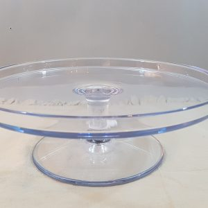 alzata acrilico trasparente 29,7 cm