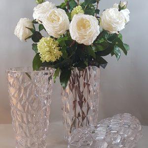 vasi acrilico trasparente