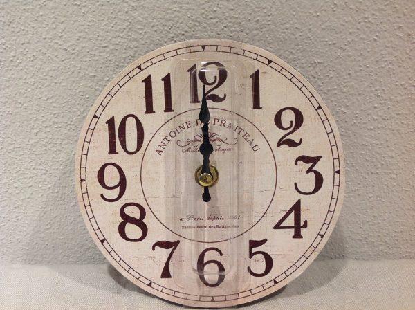 orologio 15 cm legno da muro