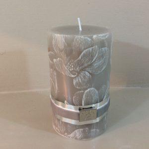 candela tortora decoro fiori