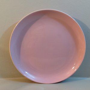 piattino dessert rosa