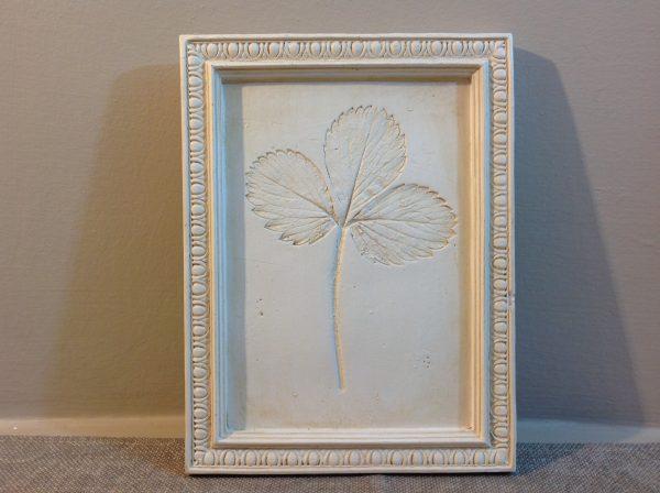 quadro panna foglie