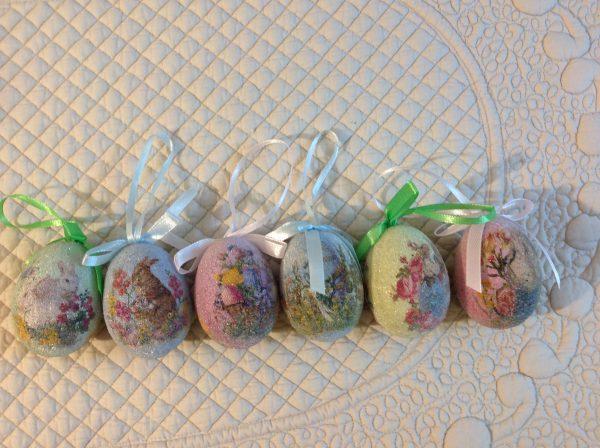 Set 6 uova ghiacciate fantasie assortite-Hoff