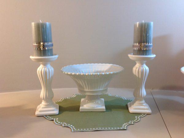 Preziosa Luxury Coppa in ceramica bianca