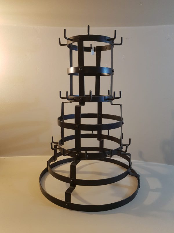 Côté Table Porta tazze maxi in ferro nero