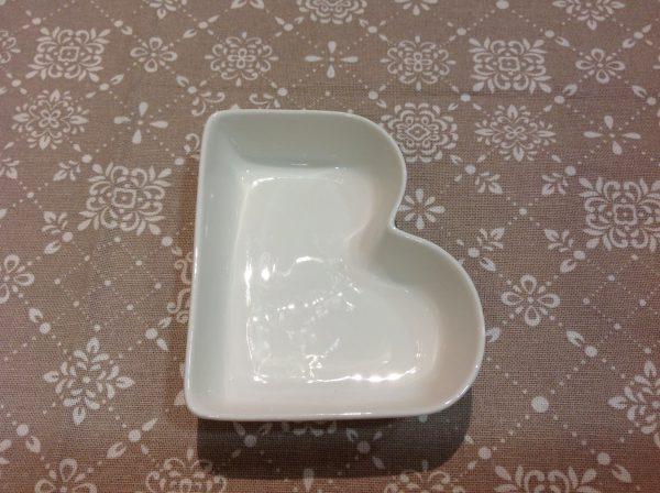 Brandani Lettera B in porcellana bianca