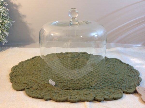 Simple Day Campana in vetro liscia per panettoni