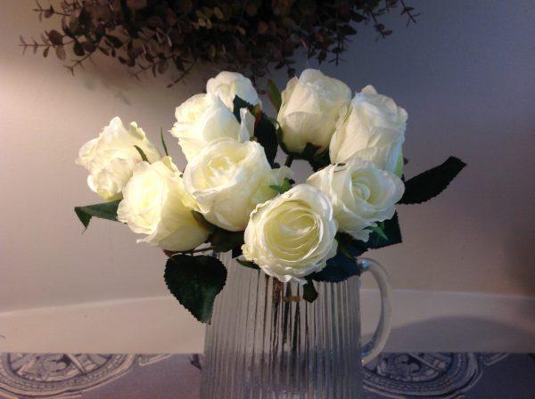 EDG (Enzo De Gasperi) Bouquet rose bianche