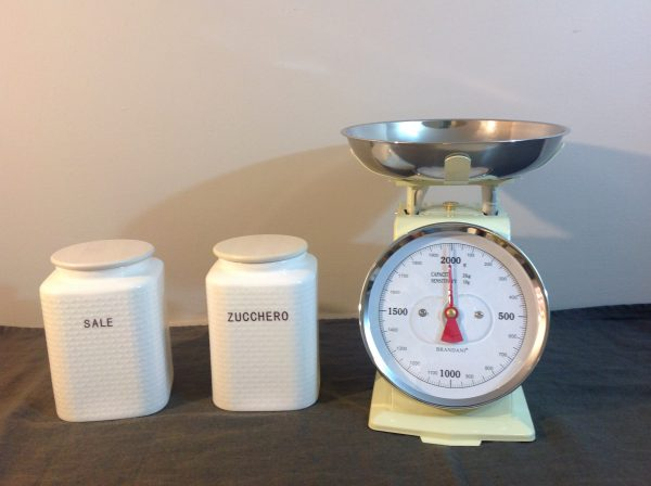 Brandani Bilancia pannagiallina 2 kg. vintage
