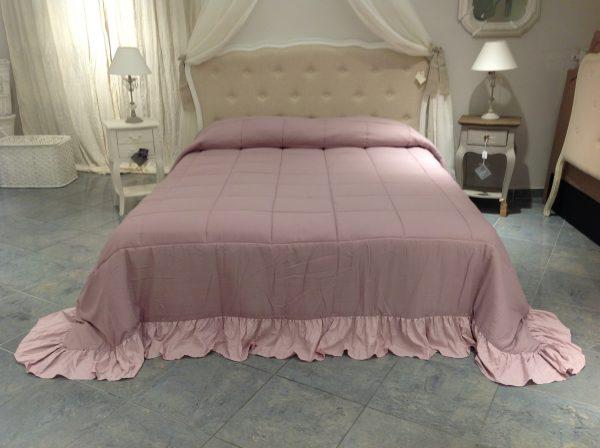 L'Atelier 17 Trapunta double-face rosa antico 260x260