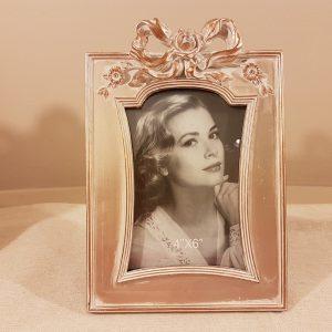 Blanc Mariclò Porta foto  oropanna con fiocco