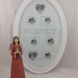 Lorenzongift Porta foto ovale grande Family