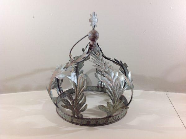 Blanc Mariclò Corona grande in ferro anticato con ramage