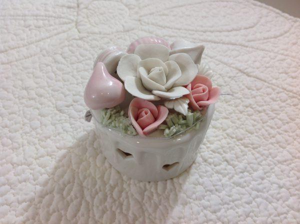 Coccole di Casa Scatolina in porcellana con led