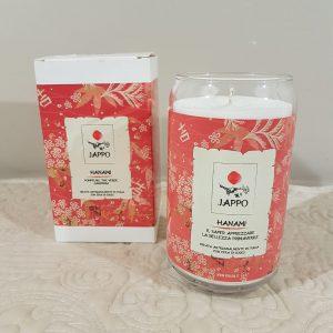 candela profumata linea Jappo-Hanami
