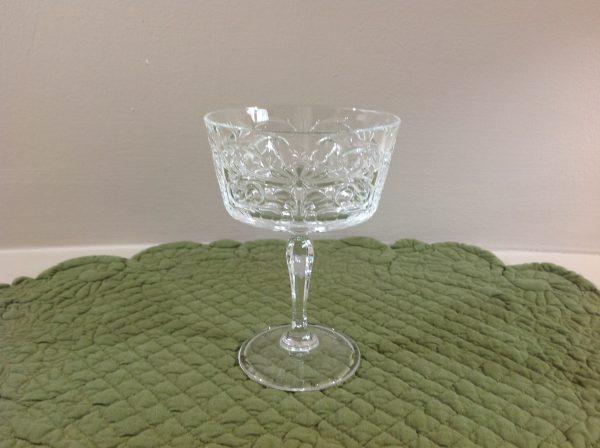 Brandani Set 6 coppe royal crystal glass