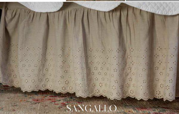 L'Atelier 17 vestiletto in Sangallo bianco matrimoniale