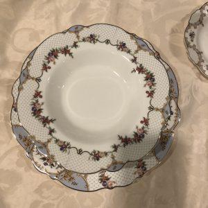 Blanc Mariclò Servizio di piatti da 6 ps. in porcellana Porto Venere