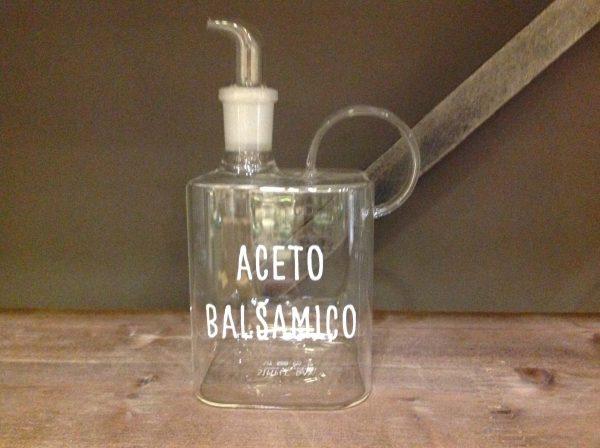 Simple Day Bottiglia in vetro 400ml Aceto balsamico